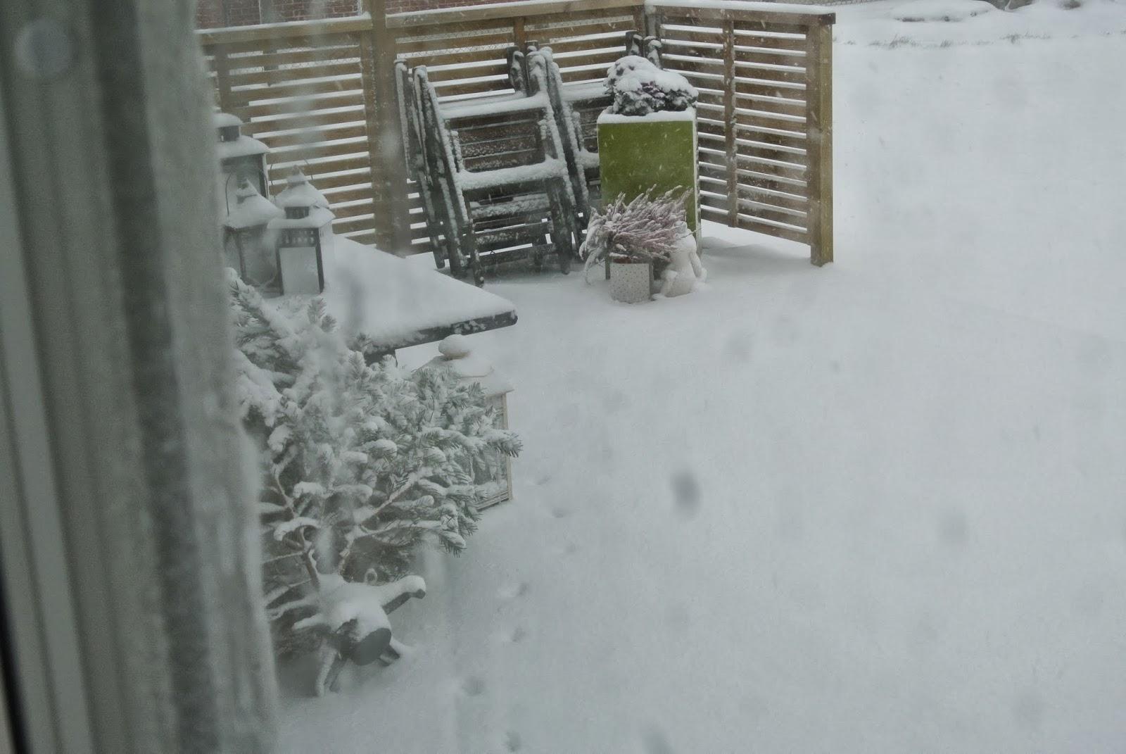Äntligen snö!