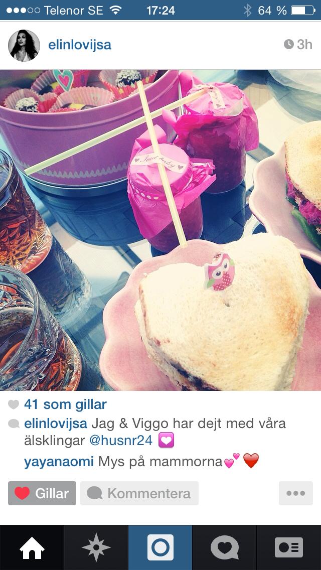 Picknicken på Instagram
