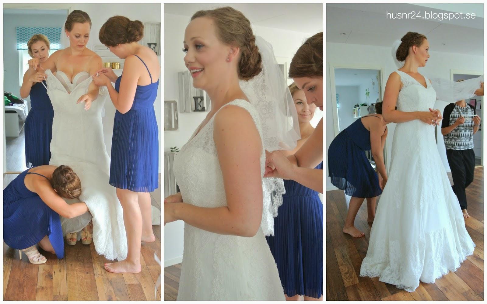 När klänningen åkte på