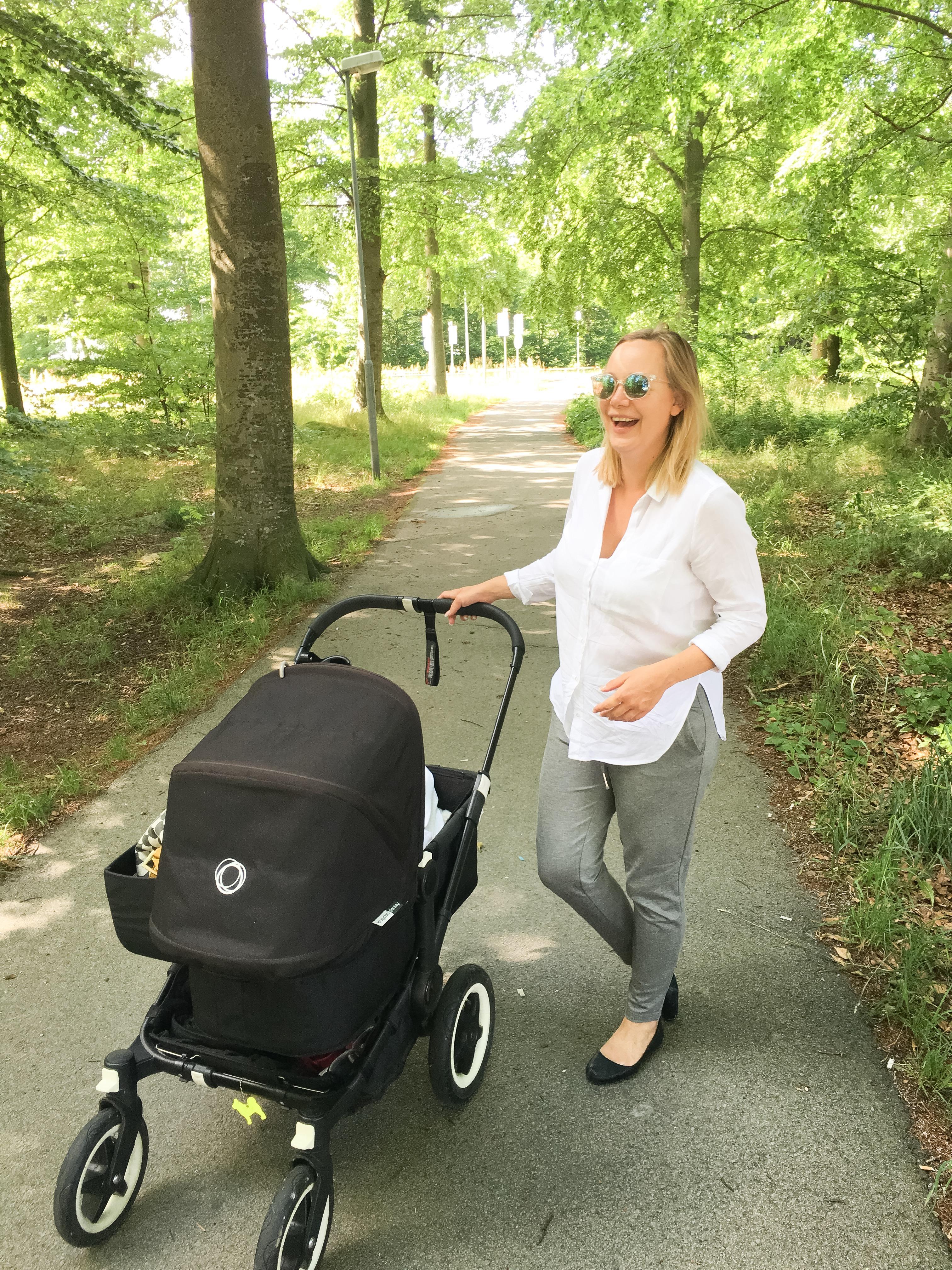 Att njuta av en vanlig promenad