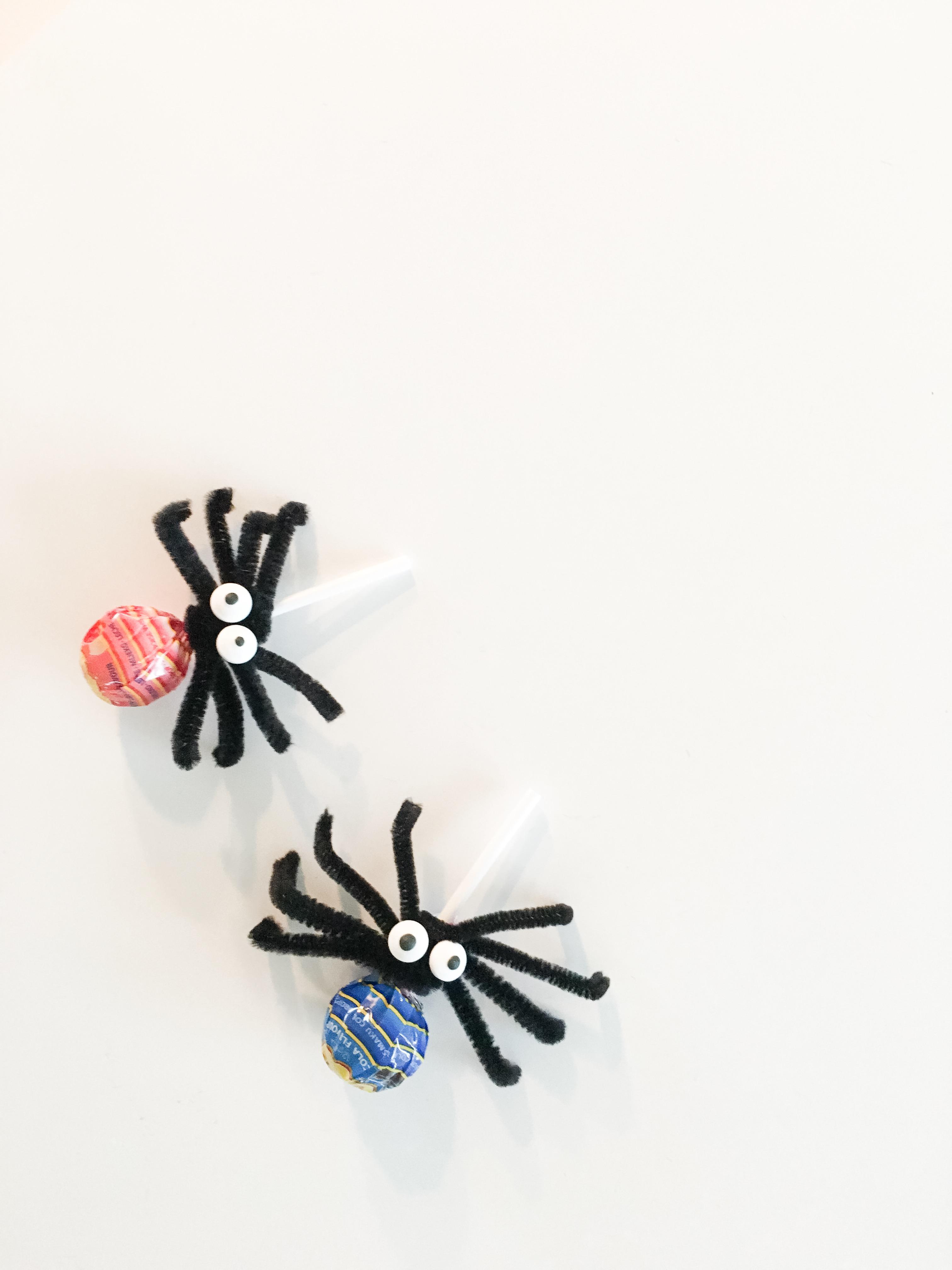 Spindelklubbor på Halloween