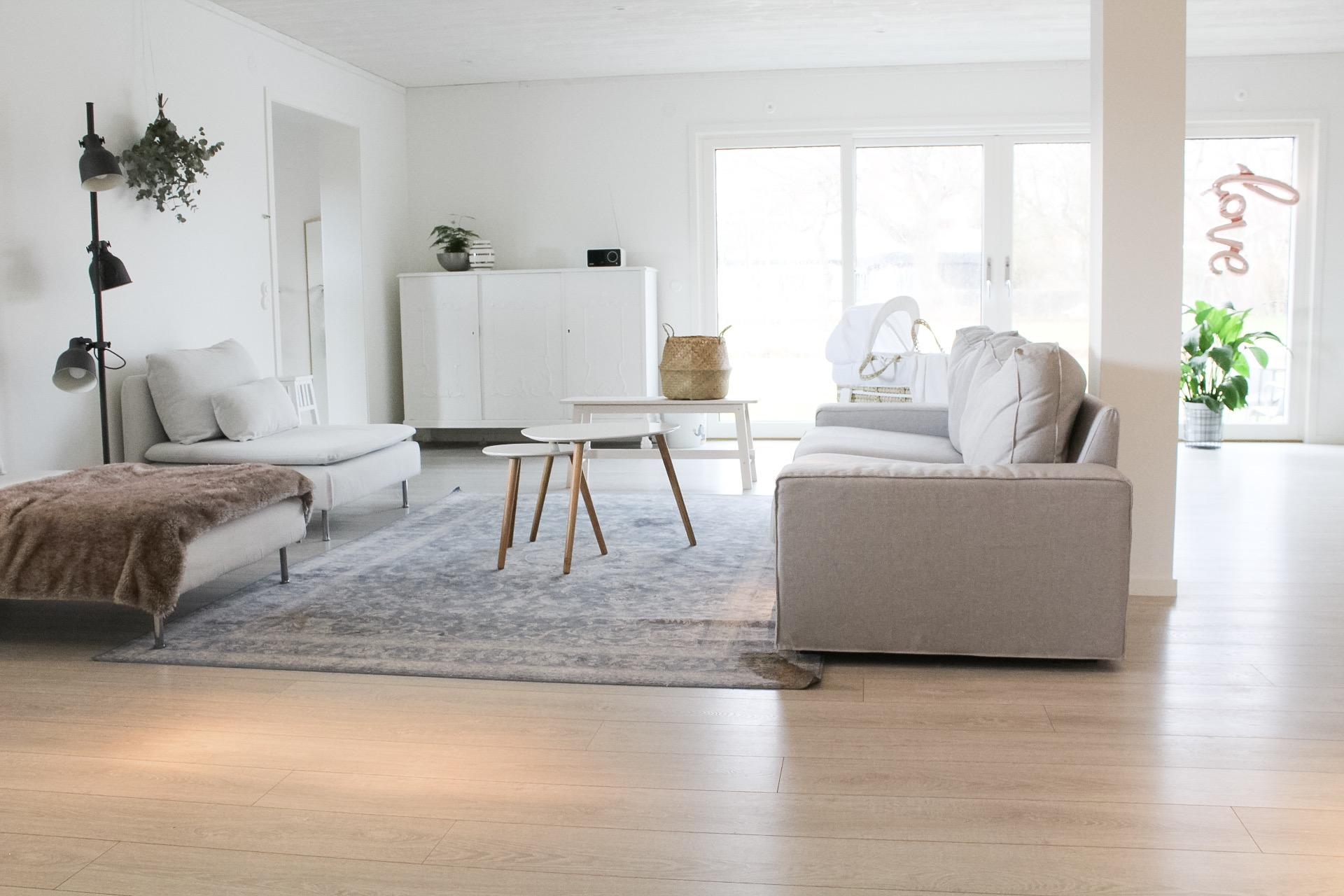 Ett städat hus och en öroninflammation
