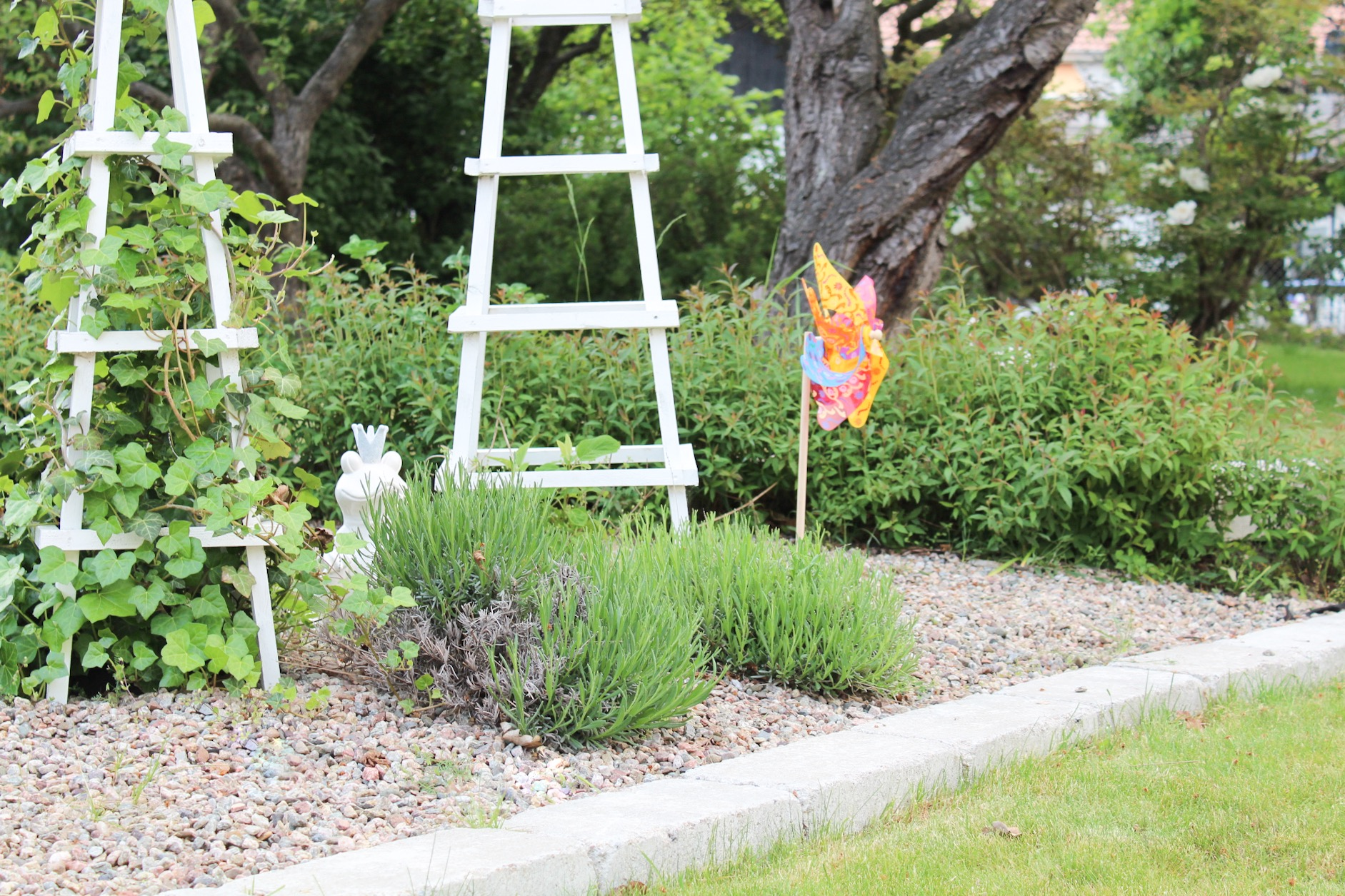 Reklam: Trädgård, trädgård, ack denna trädgård