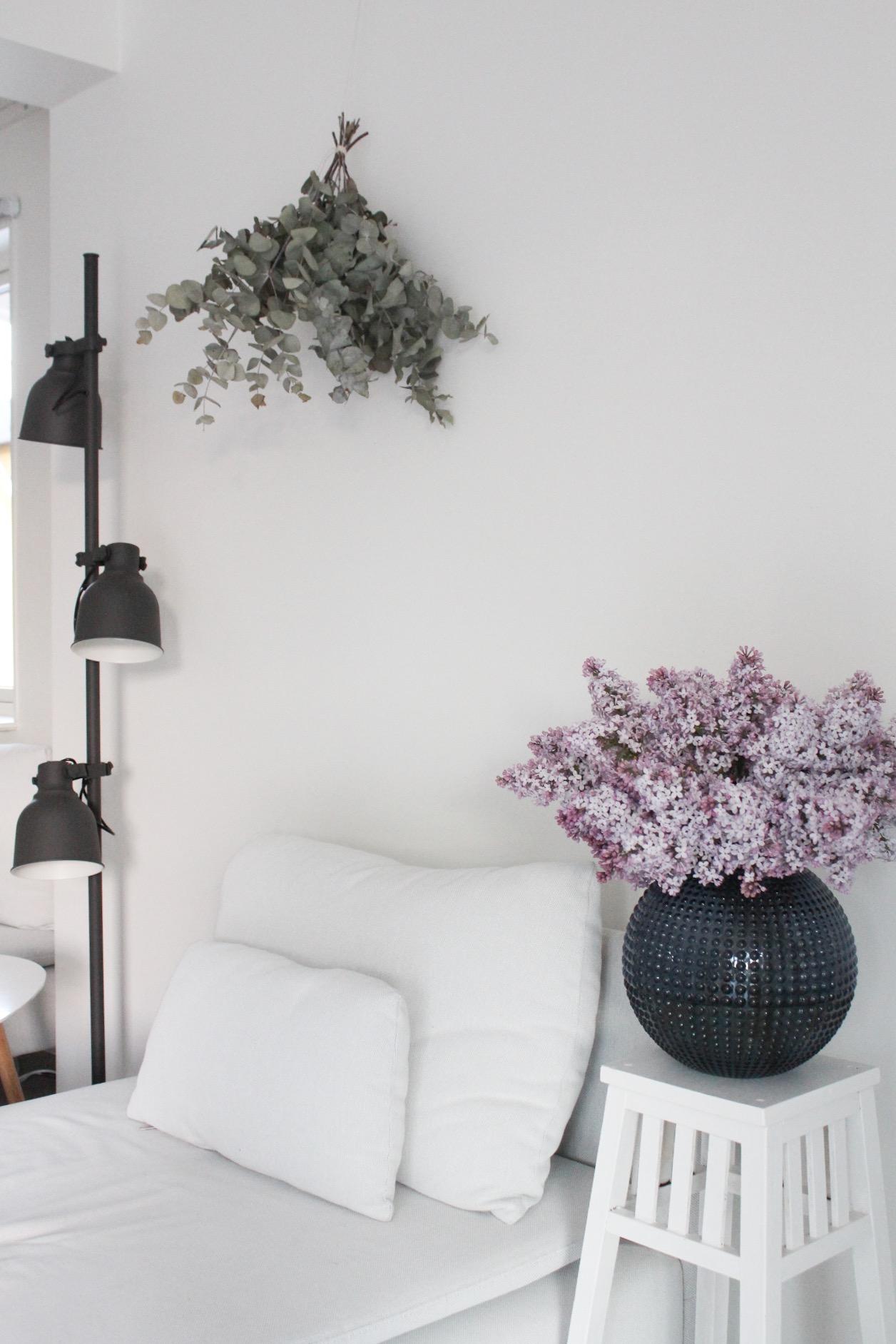 Drömmiga syréner och blommiga isbitar