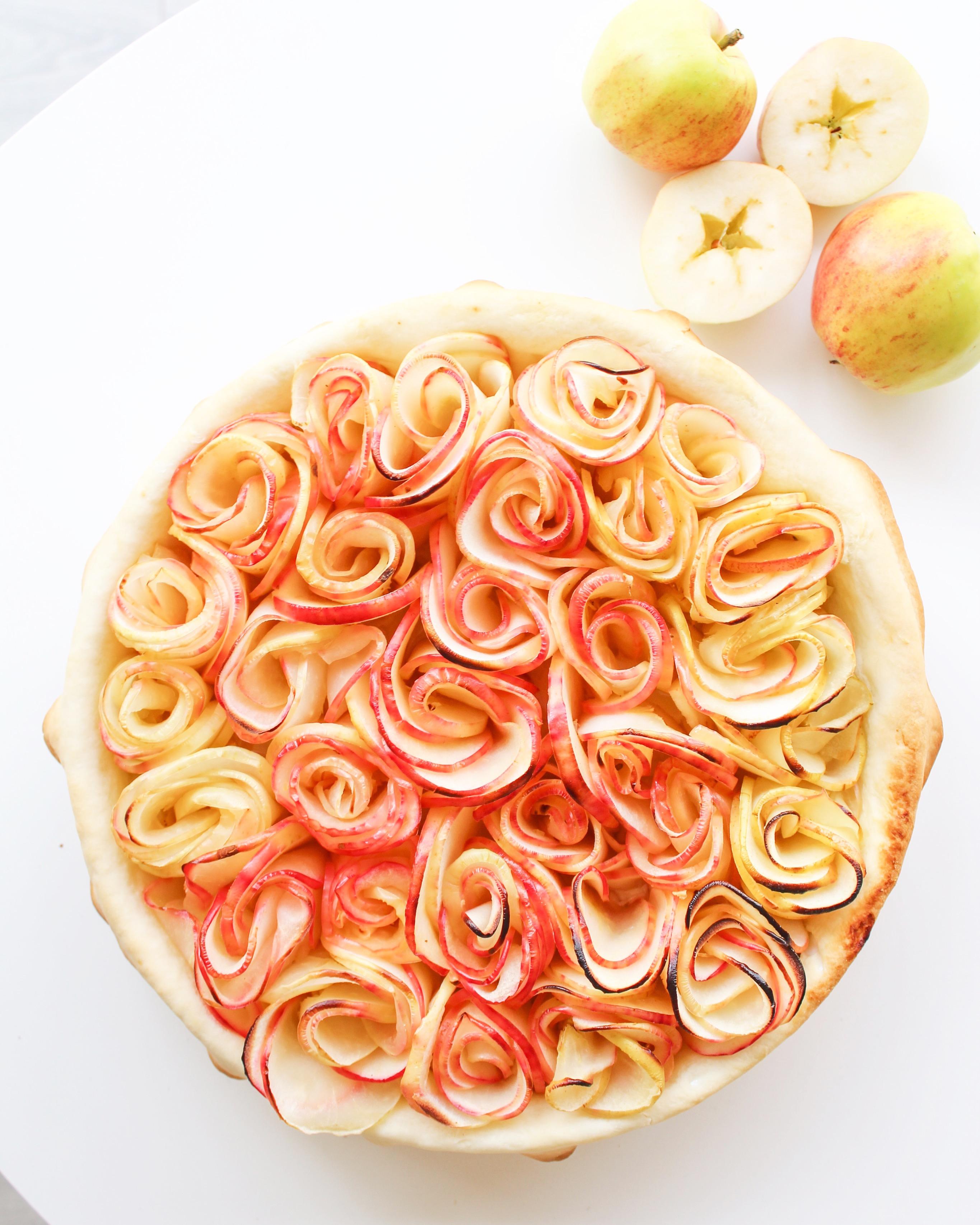 Äppelrospajen