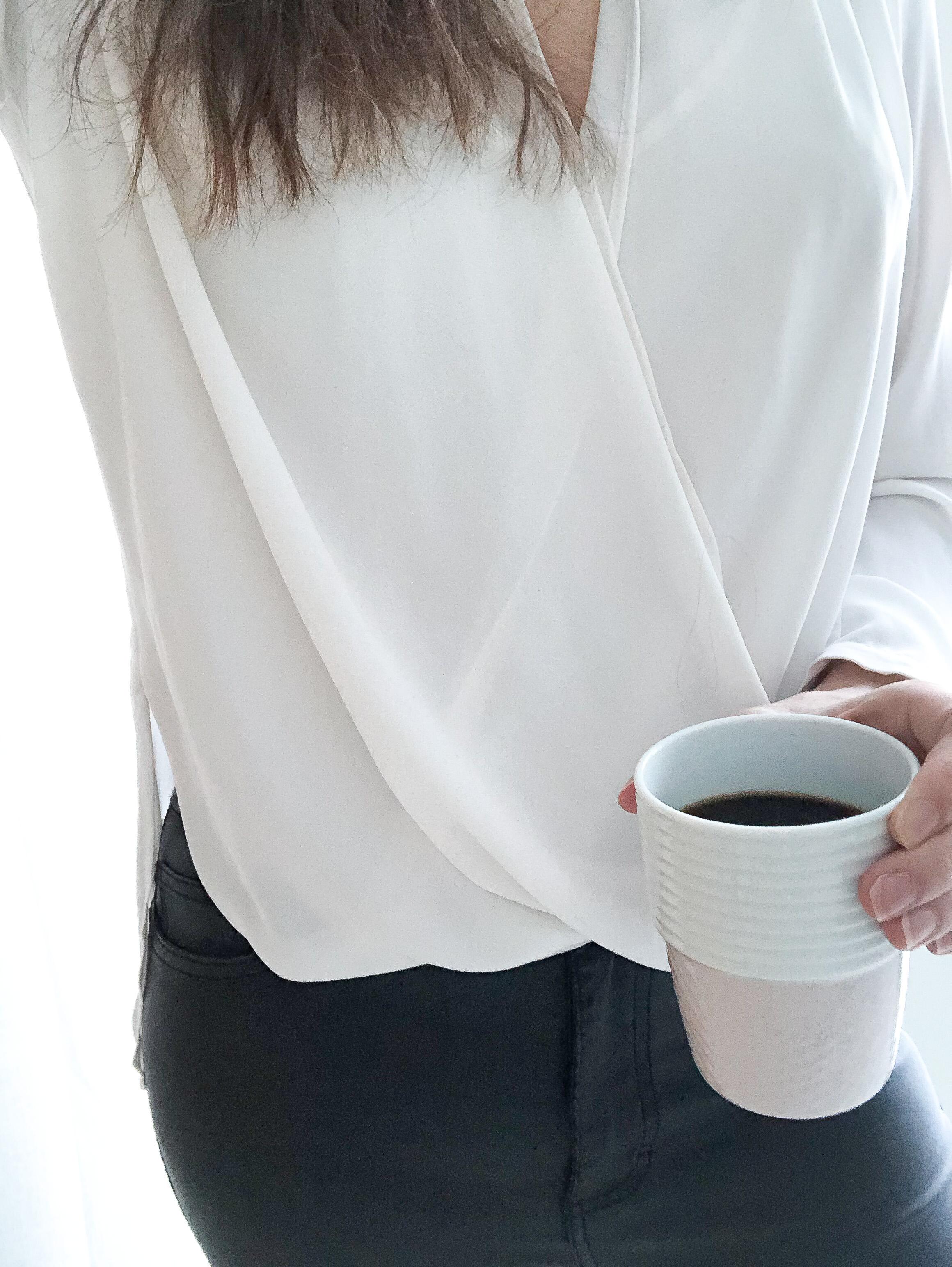 Kaffe och på språng