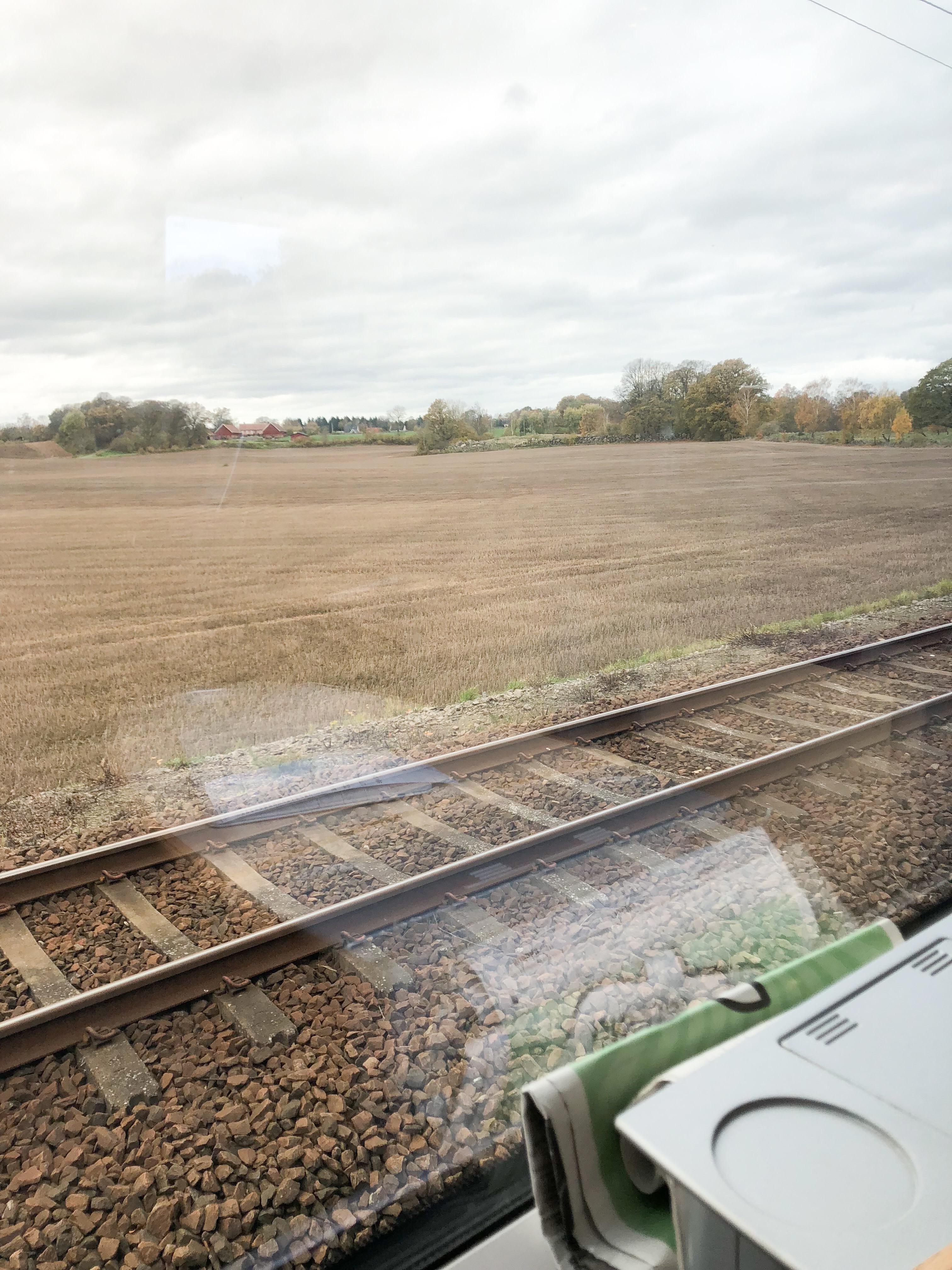 Det är inte lätt att åka tåg