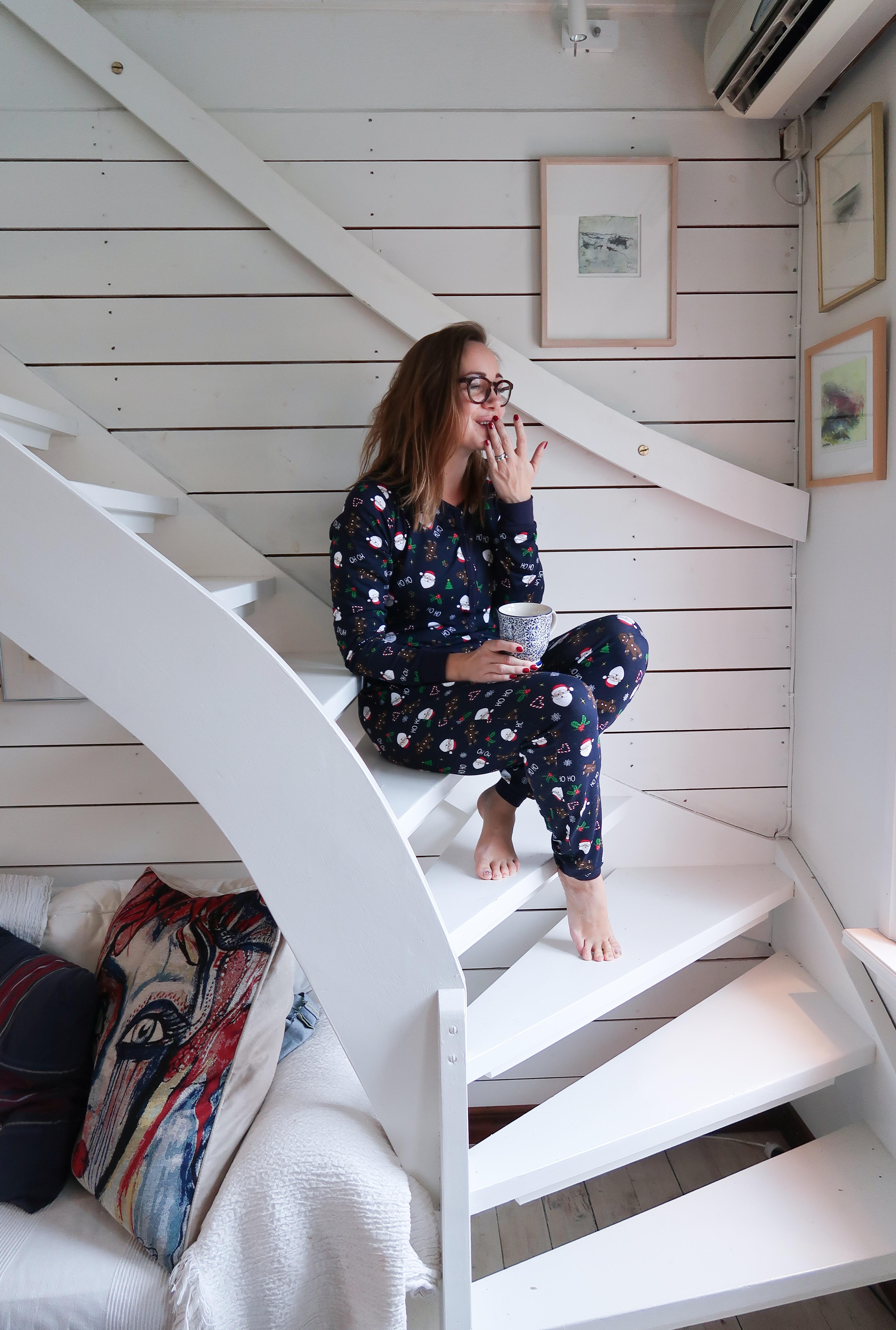 Tack helgen, hej nya vecka och en pyjamas
