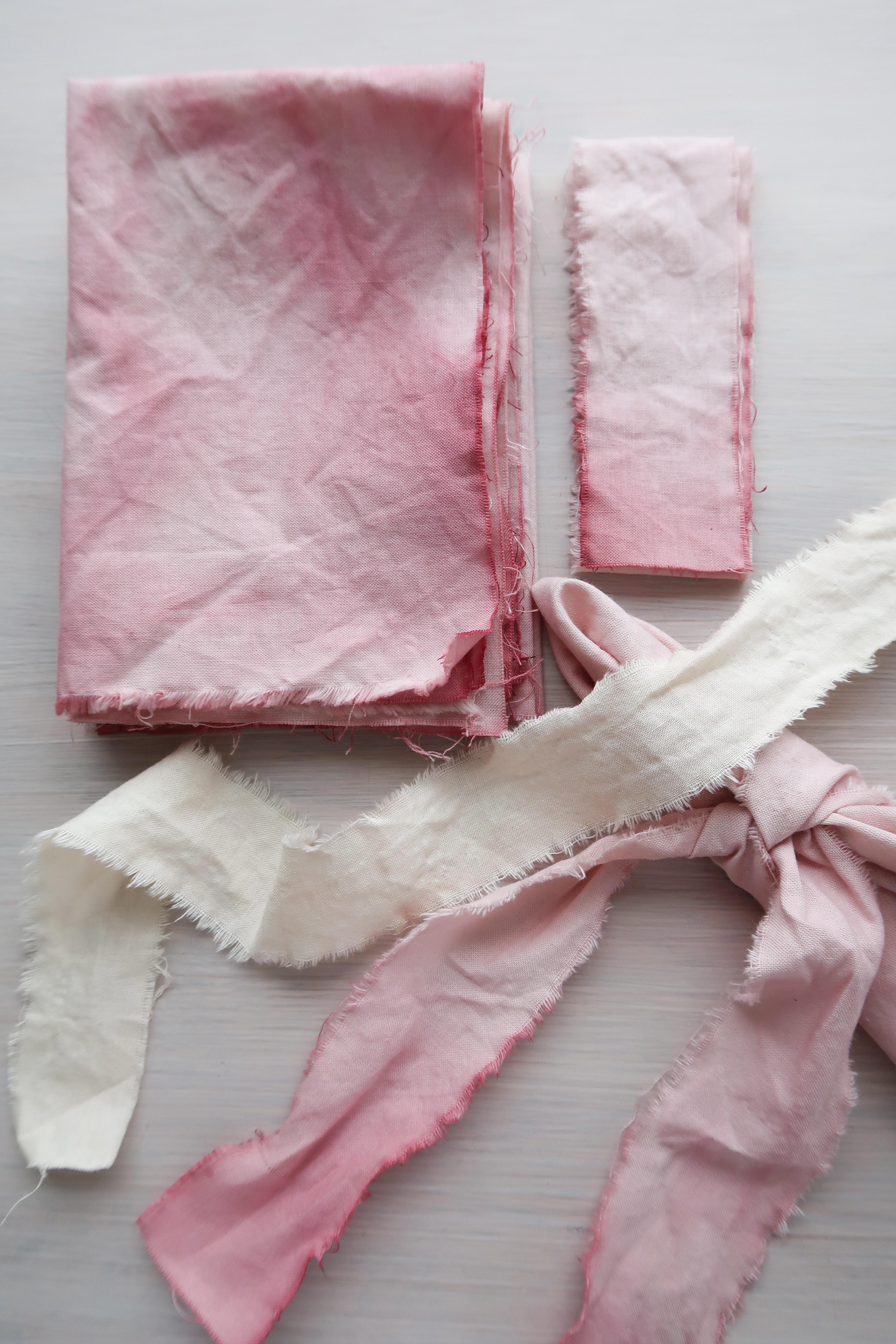 Färga egna servetter